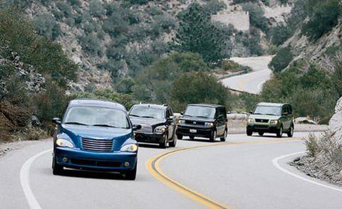 Motor vehicle, Road, Wheel, Mode of transport, Automotive mirror, Transport, Vehicle, Land vehicle, Infrastructure, Car,