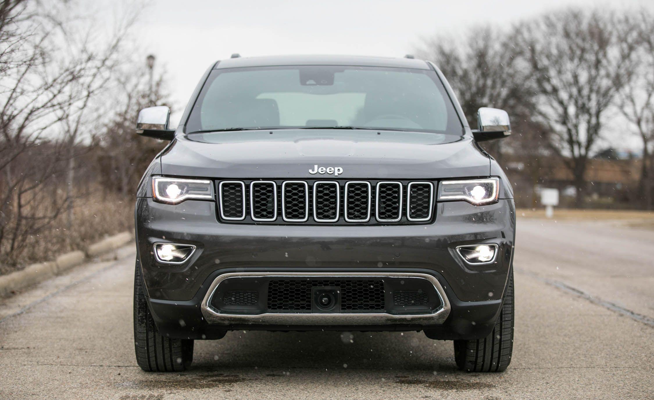 2018 Jeep Grand Cherokee Engine And