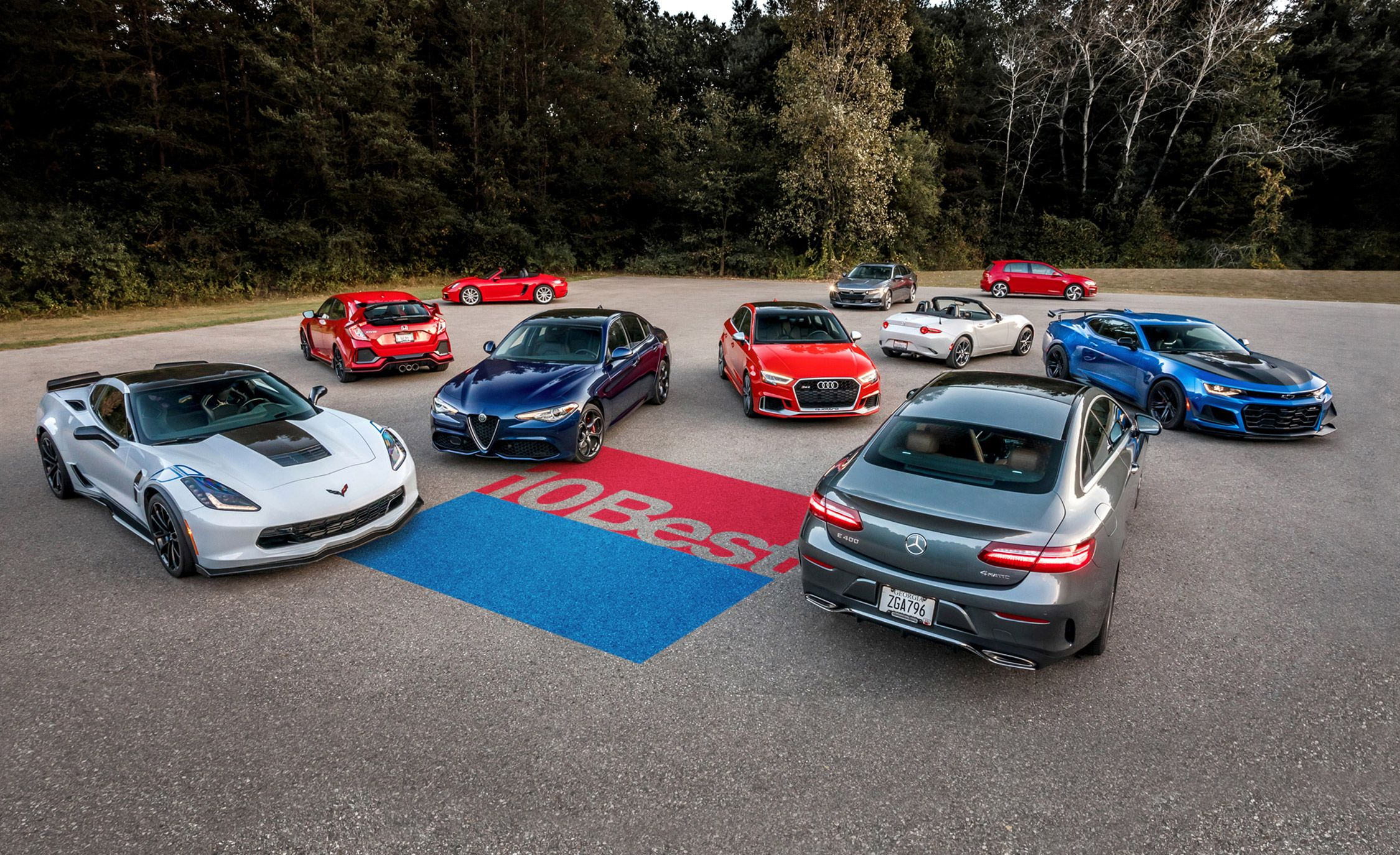 2018 10best cars the best cars for sale in america today featuremichael simari, marc urbano, andi hedrick, chris doane automotive, the manufacturers allow us to present our 2018 10best cars