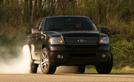 2007 ford harley davidson f 150 supercharged