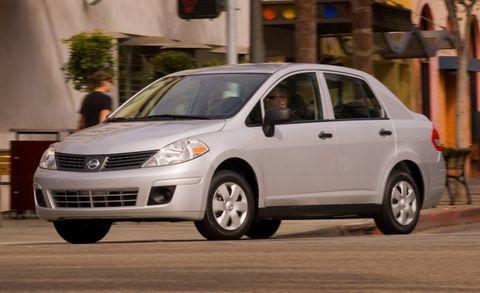 218,000 Nissan Versa Models Recalled for Broken Coil Springs