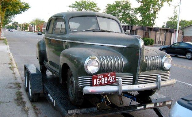 1941 nash 600 special fastback sedan