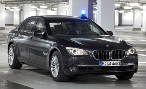 Bmw 7 Series High Security Is The Ultimate Protection Machine