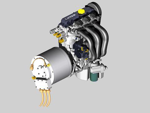 Lotus Range Extender Engine
