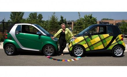 Smart Offers Custom Colors, Vinyl Wraps for Fortwo