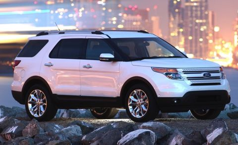 Fuel Economy For The New Ford Explorer V 6 Has Been Rated By Epa At 17 Mpg City And 25 Highway When Equipped With Front Wheel Drive All