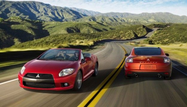 2011 mitsubishi eclipse spyder and coupe