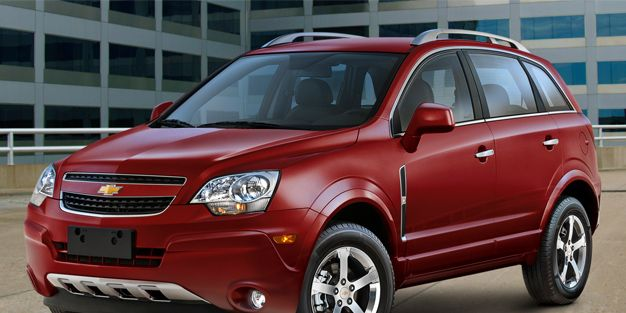 Chevrolet Introduces Captiva Crossover