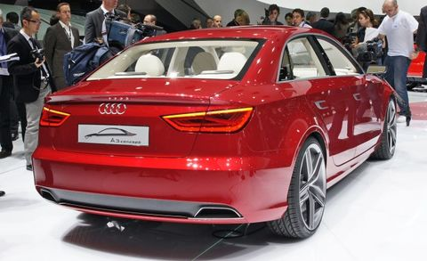 The Audi A3 Concept Was One Of Nicest Cars At Geneva Show I Like Controlled Aggression And Tension Its Body