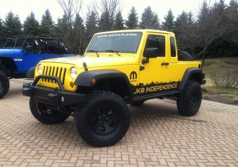 Wrangler Pickup Is A Go Jeep To Offer Jk 8 Conversion Kit For The