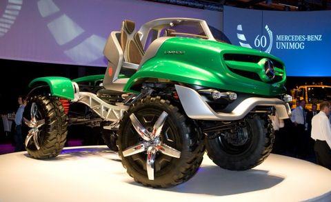 Mercedes Unimog concept