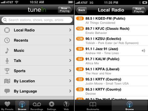 TuneIn Offers Streaming Online Radio (Including World Radio