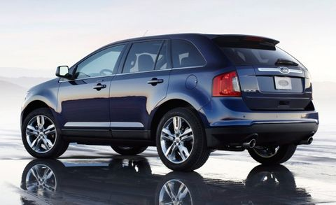 Ford Edge Mpg >> 2012 Ford Edge With 2 0 Liter Ecoboost Rated For 30 Mpg Highway