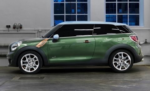 Production Mini Paceman Confirmed That 8217 S The Three Door Countryman