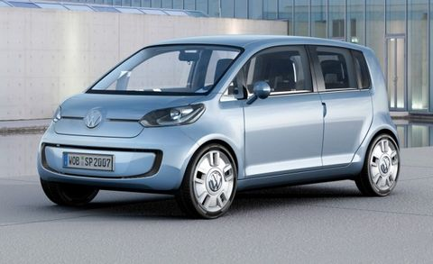 This 2007 E Up Concept Is One Idea Of Many That Vw Toying With For Based Models There Room A Five Door Below The Polo In