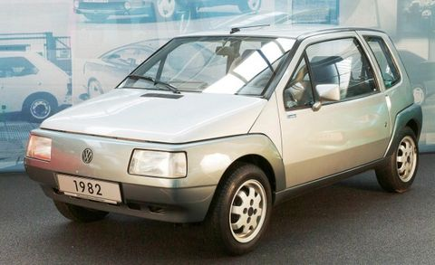 In 1982 Shortly After The Launch Of Second Gen Polo Vw Unveiled A Far Smaller At 10 3 Feet And Radically Styled Prototype Student