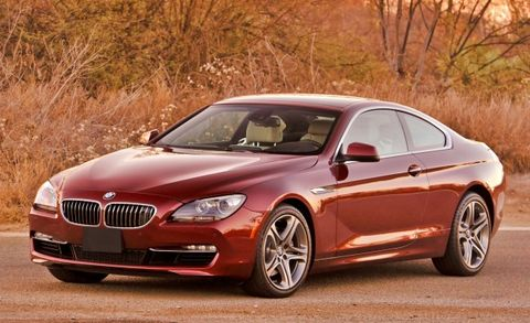 Six Cylinder 2012 Bmw 640i Coupe Priced From 74475 Convertible