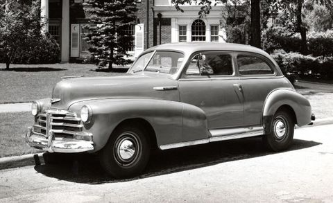 Introducing the 1946 Chevy Stylemaster: Freedom Sure Feels Good ...
