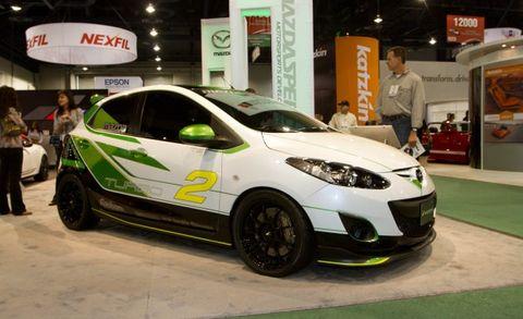 Mazda Brings MX-5 Spyder, Turbo-Powered 2 to SEMA—We