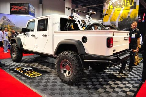 Aev 8217 S Brute Double Cab Is The Ultimate Jeep Wrangler Pickup