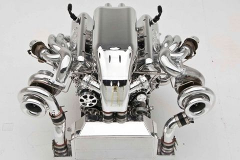 Nelson Racing Engines Twin-Turbo 632: The Bugatti Veyron of