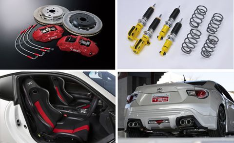 TRD Shows Performance Parts for Toyota GT 86, Similar Items