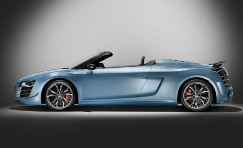 Audi Prices 2012 R8 Gt Spyder From 213 350 Making It The Most