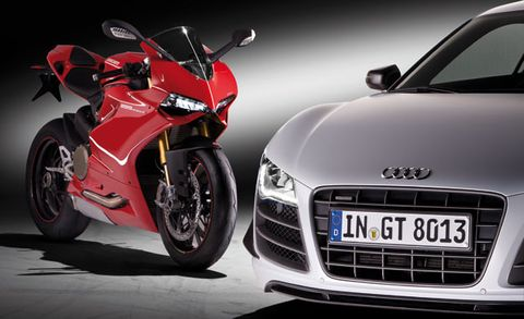 audi officially purchases italian motorcycle maker ducati italian motorcycle maker ducati