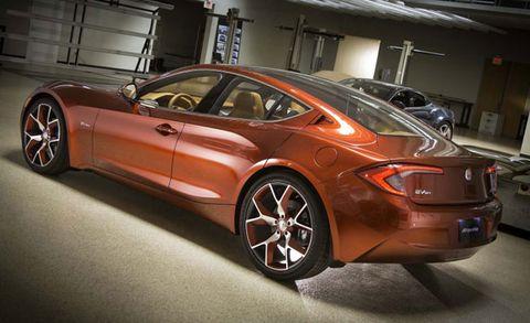 Fisker Atlantic Concept Photos Released New York Auto Show