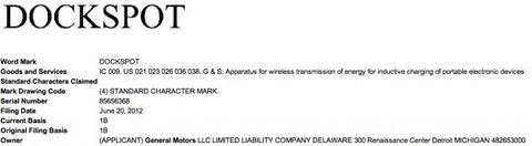 GM Preps for Wireless Charging Tech by Filing to Trademark
