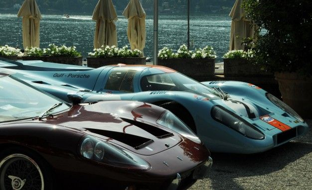 porsche 917k and ford gt40