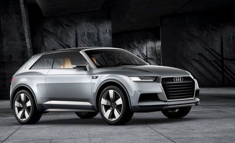 Audi Nabs Q2, Q4 Badges from Fiat – News – Car and Driver
