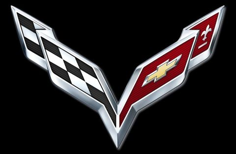 Chevrolet Debuts New Crossed Flags Logo For 2014 Corvette Car Will Be Revealed At Detroit Auto Show