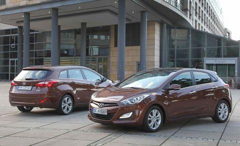 Hyundai I30 Wagon And 5 Door Hatchback