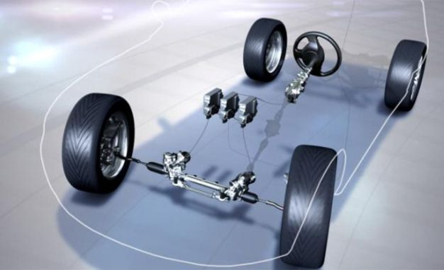 nissan independent control steering technology