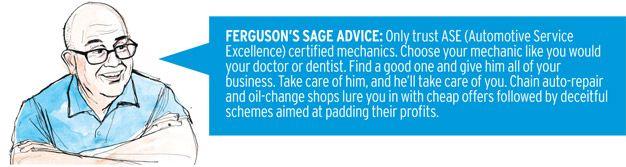 ferguson's sage advice