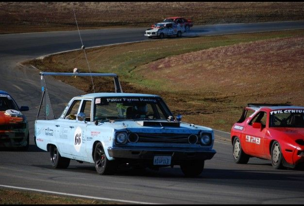 1966 plymouth belvedere at 24 hours of lemons