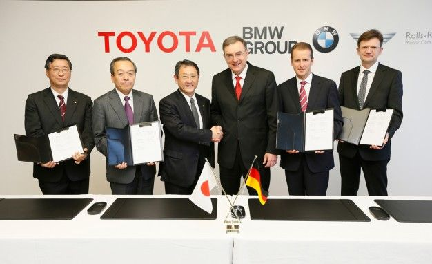 toyota and bmw collaboration