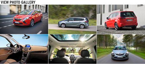 Opel Zafira Tourer 1 6 Cdti A 120 Mph 50 Mpg Entry Level Van