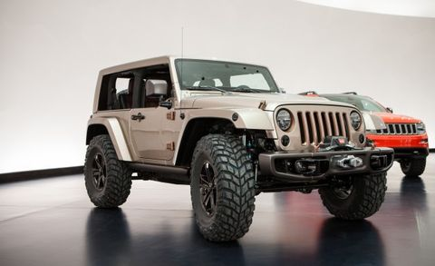 Jeep and Mopar Reveal Six New Concepts for This Year's Moab