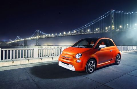 California Dreaming All Electric 2017 Fiat 500e Prices Set Starts At 32 500