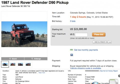 Exclusive: Feds Declare War on Imported Land Rover Defenders – News