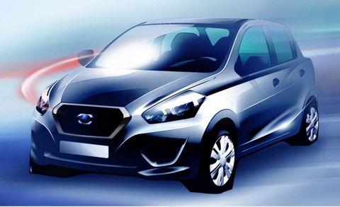 Nissan Divulges Datsun Drawing Ahead of Brand's Revival
