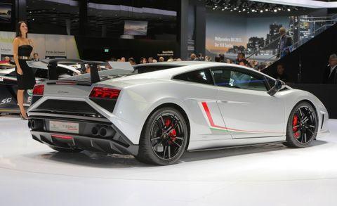 Lamborghini Reveals 562 Hp Race Derived Gallardo Squadra Corse