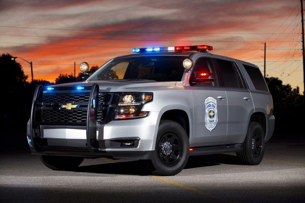 chevy tahoe police vehicle