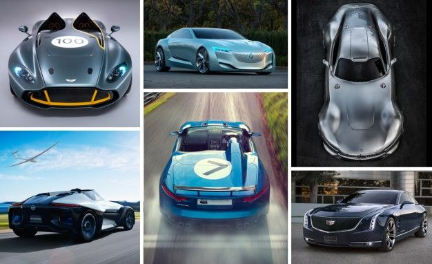 best concept cars of 2013 collage