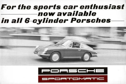 A History of Porsche's Sportomatic, Tiptronic, and PDK Transmissions