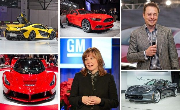 2013 top car news stories collage