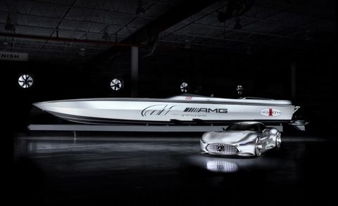 New Cigarette Racing/AMG Vision GT Concept Boat – News – Car