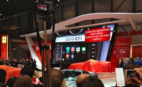 Ferrari First to Market with Apple CarPlay, Mercedes to Offer